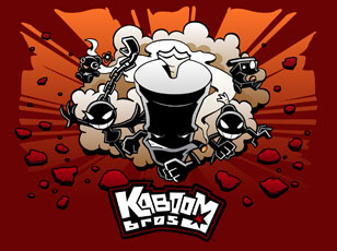 Kaboom Bros. Wallpaper